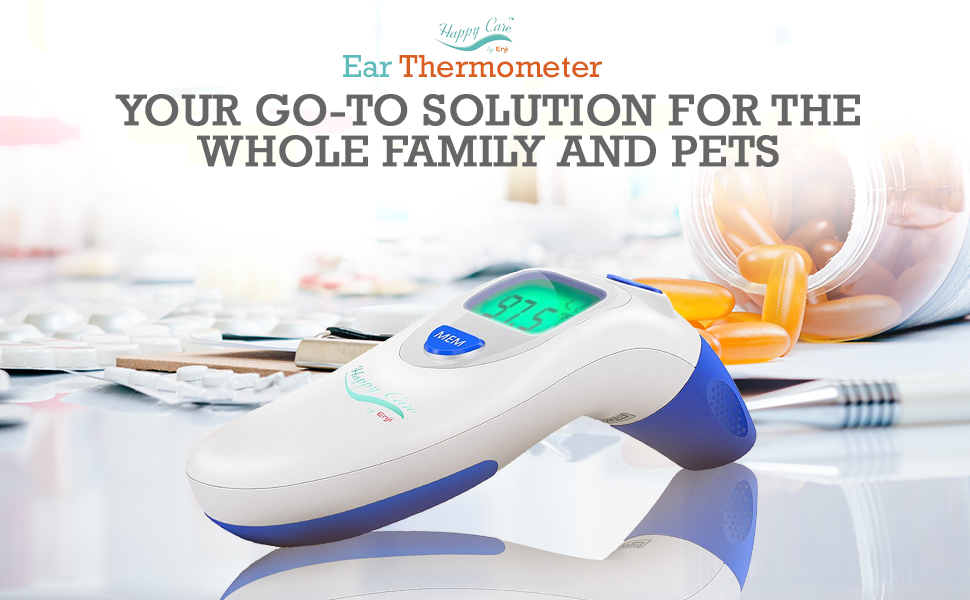 Upgrade Batteries Included) LuYuMiu Non-Contact Infrared Thermometer,Quick 1 Sec Reading for Body Surface and Room Forehead Thermometer for Baby Kids and Adults,CE and FDA Approved