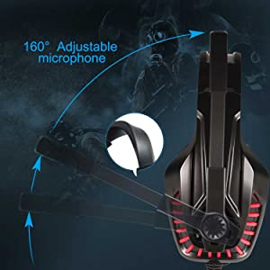 Amazon.com: Trobing Gaming Headset PS4 Xobx One Controller ...