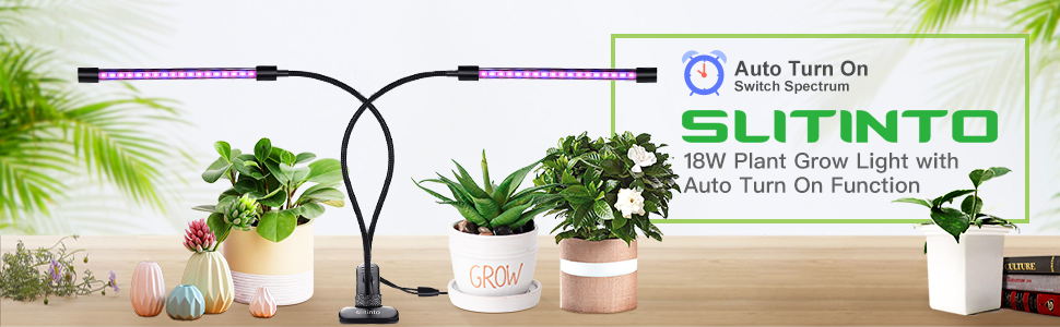 grow light with timer