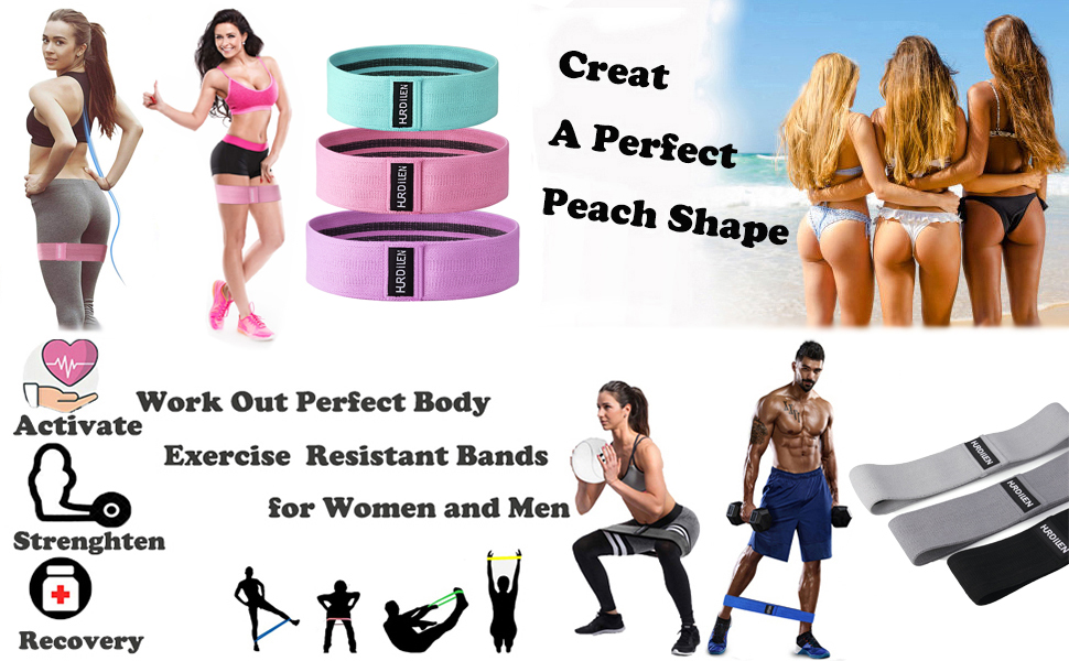 Booty Bands resistance bands exercise bands workout bands resistance bands booty bands for women