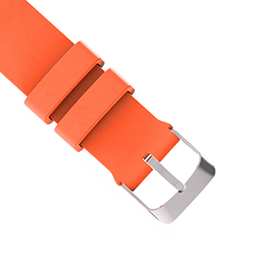 Classic metal buckle design locks your band securely, without worrying about accidental falling.