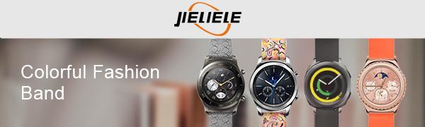 JIELIELE Colorful Fashion Replacement Watch Band