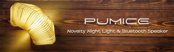 Novelty Night Light & Bluetooth Speaker