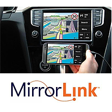 2 din mirror link player