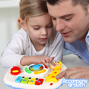 baby toys_baby toys 6-12 months_music learning table_6 months toys