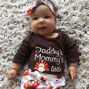 1st thanksgiving baby girl
