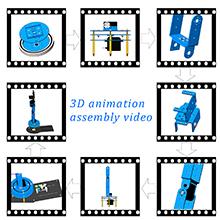 LeArm 3D Assembly video