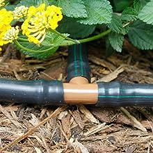 Drip Irrigation Tee 1/2 Inch