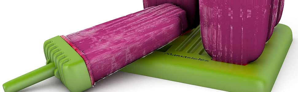 Mamasicles ice pop molds