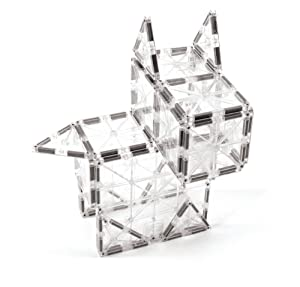 Magna Tiles Ice 32piece Set Magnetic Building Tiles