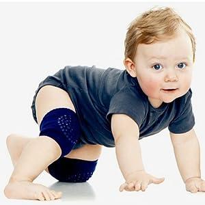 ToBeInStyle Packs of 6 or 12/Leg Warmers Leggings Kneepads Girls Baby Crawling Socks