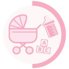 motherhood breast milk baby carriage stroller