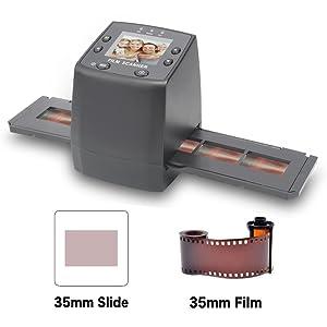 DIGITNOW! 135 Film Negative Scanner High Resolution Slide Viewer,Convert 35mm Film &Slide to Digital JPEG Save into SD Card , with Slide Mounts Feeder ...