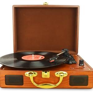 Amazon.com: DIGITNOW! Vinyl/LP Turntable Record Player with ...