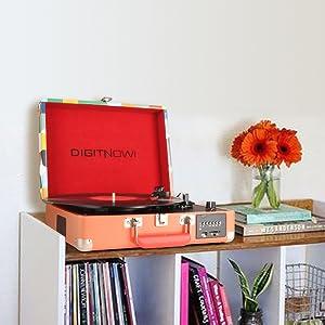 Amazon.com: digitnow Anaranjado: Home Audio & Theater
