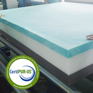 CertiPUR-US Certified foam for safety and health