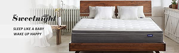 10 inches hybrid mattress