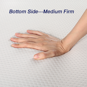 Bottom Medium-Firm Side for Durable Support