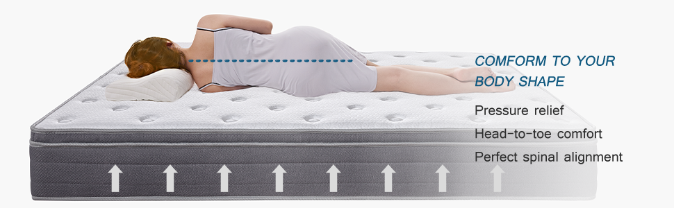 King mattress,hybrid mattress,spring mattress,mattress,mattresses,mattress in a
