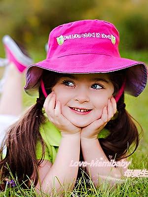 Usunny Kids Bucket Hat Toddler Girls Sun Hat Breathable Summer PlayHat Koala Gray