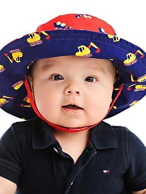 Amazon.com  FlapJackKids - Patterned Kids  Sun Hat  Clothing a8efb31bbaca