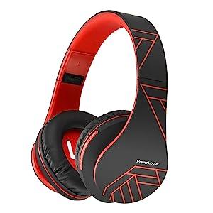 over ear bluetooth headphones premium coating with soft foam earmuffs foldable headphones for sport
