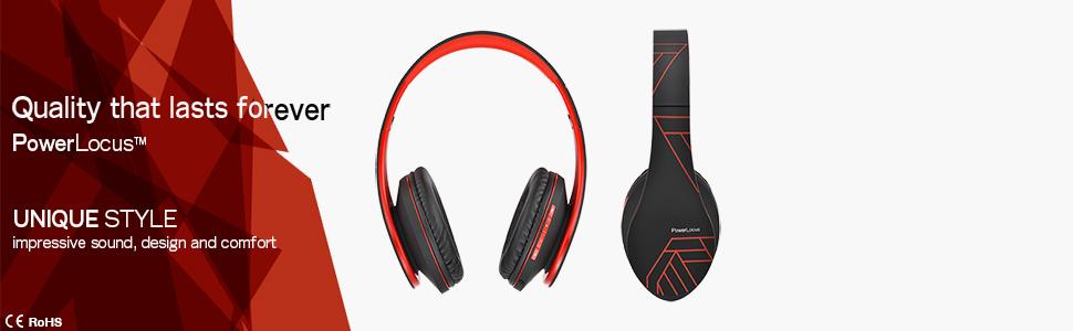 bluetooth headset quality headphones soft headband and earmuffs headphones with hd stereo sound
