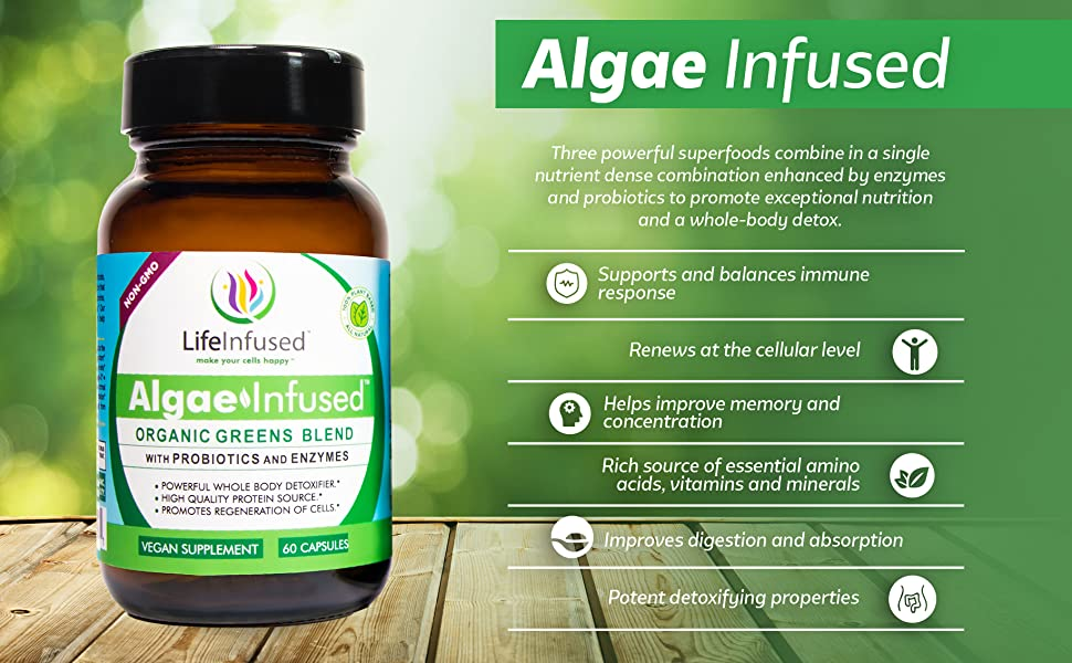 Amazon.com: Algas Infused: Health & Personal Care