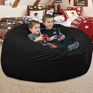 4 ft bean bag chair for kids giant bean bag chair