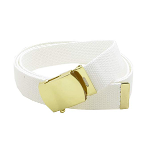 brass web belt