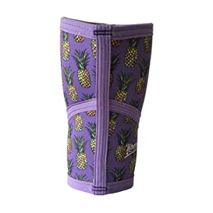 3811fcff19 Amazon.com : Liberte Lifestyles 5mm Pineapple Print Knee Sleeves ...