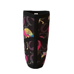 8b201273e5 Amazon.com : Liberte Lifestyles 5mm Flamingo Print Knee Sleeves ...