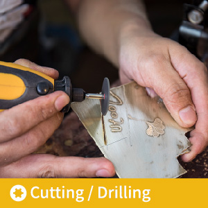 cutting copper using rotary tool