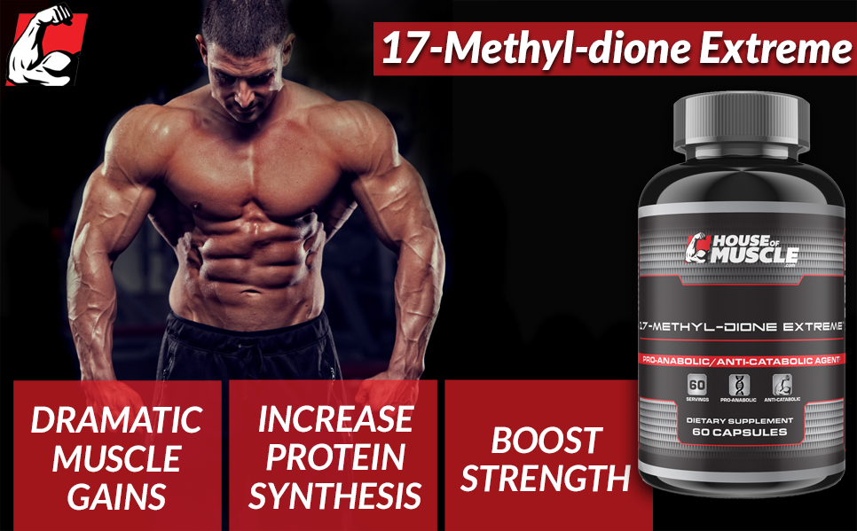 Amazon Com 17 Methyl Dione Extreme Advanced Muscle Building