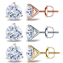14k Yellow Gold, White Gold or Rose Gold