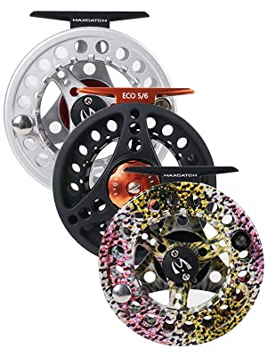 three colors fly reel