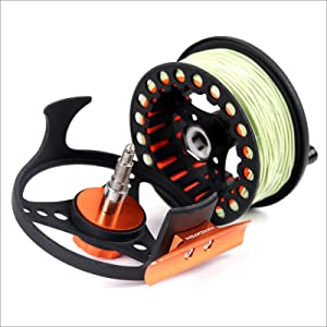 fly reel and line