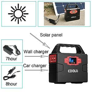 Amazon Com Coolis 150wh Portable Power Inverter