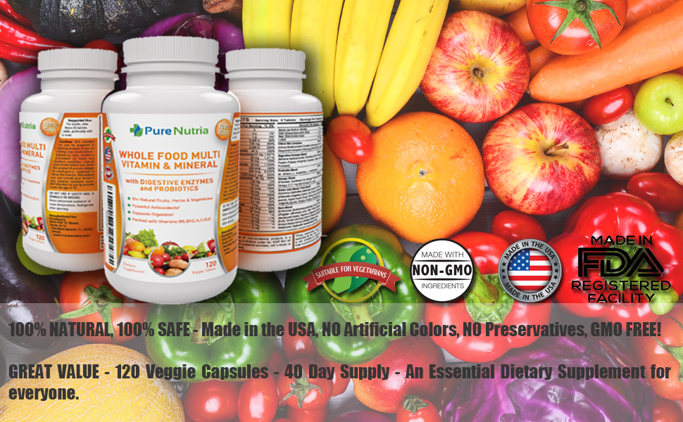 multivitamins minerals health