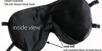 Side Sleeper sleep mask inside view