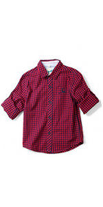 boys plaid flannel shirt