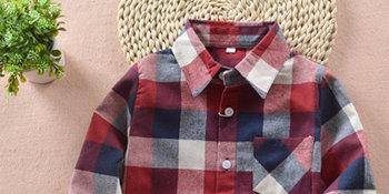 plaid shirt for boys