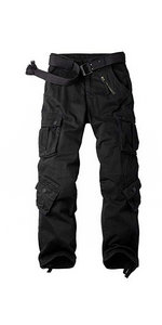 8 pockets cargo pants
