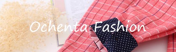 OCHENTA shirt plaid flannel for boys