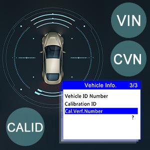 AL519 Code Reader Scanner Diagnostic Tool Retrieve VIN