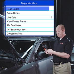 Autel AL519 OBD2 Scanner Code Reader Diagnostic Tool OBD2 Diagnosis