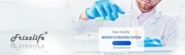 Frizzlife undersink water filter