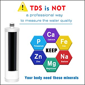 MK99 doesn't reduce TDS