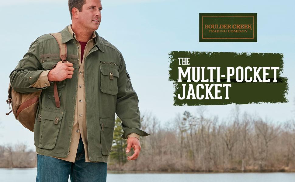 Multi-Pocket Jacket