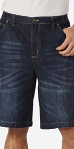 114b7784 Liberty Blues Men's Big & Tall 5 Pocket Denim Shorts · KingSize Men's Big &  Tall 12